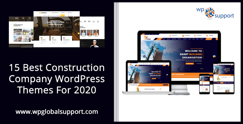 15 Best Construction Company WordPress Themes For 2020