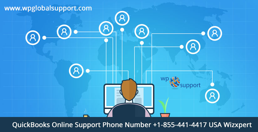 QuickBooks Online Support Phone Number +1-855-441-4417 USA Wizxpert